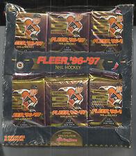 1996-97 FLEER HOCKEY MAGAZINE RETAIL BOX 36 PACKS  RARE GRETZKY INSERT