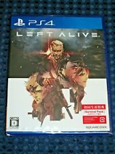 NEW PS4 LEFT ALIVE with 1st Print Limited Bonus Survival Pack DLC JAPAN MGS F/S