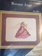 MarBek Baroque Angel Cross Stitch Kit -7 1/4x5 1/8 Inches