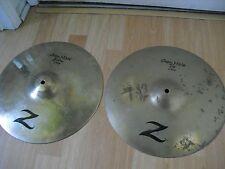 "14"" Zildjian Z Series Custom HiHats Hi Hats Cymbals flower hammering"