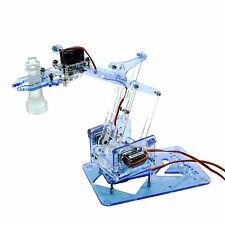 MeArm Pocket Sized Robot Arm Kit Nuka Cola Blue Arduino, Raspberry Pi compatible