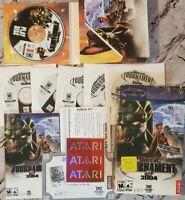UNREAL TOURNAMENT 2004, 6-DISC PC CD-ROM GAME, ATARI GAMES