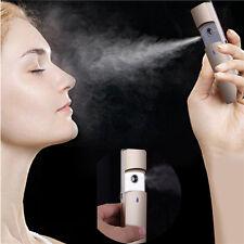 Mini USB Handy Nano Mist Sprayer Nebulizer Facial Steamer Body Skin Moisturizing