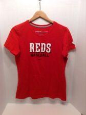 Cincinnati Reds Nike Slim Fit T Shirt XL Womens Baseball MLB
