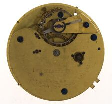 REID & SONS NEWCASTLE UPON TYNE ENGLISH LEVER FUSEE POCKET WATCH MOVEMENT Z370