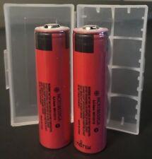 "Brand New ""2""  Panasonic NCR18650GA 3500mAh 10A 18650 Battery Button Top"