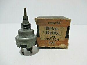 NOS 1963-64 CORVETTE DELCO REMY GM 1959 -1964 Windshield Wiper Switch GM#1998700