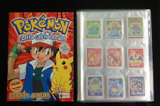 Complete Series 1 Sticker Set 276 Pokemon Merlin Stickers & Unused Album V Rare.