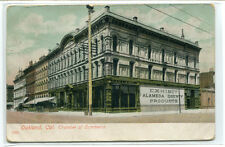 Chamber of Commerce Building Oakland California 1908 postcard