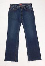 Indian rose revival new L W31 tg 45 jeans donna usato slim dritti strappi T2171