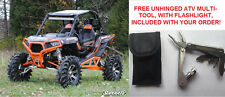 ORANGE SuperATV Polaris RZR S 1000 900 XP 900 XP 1000 Front Bumper Brush Guard