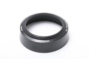 GENIUM MINOLTA Hood For MD 50mm F/ 1.4 1.7 2.0 JAPAN 201184