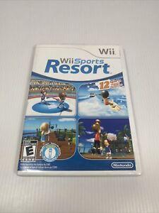 Wii Sports Resort (Nintendo Wii, 2009) CIB w/Manual, Inserts Tested Working