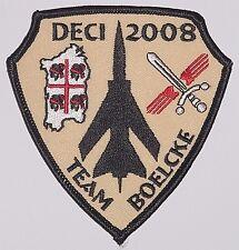 Luftwaffe Aufnäher Patch JaBoG 31 DECI 2008 Team Boelcke ..........A2523