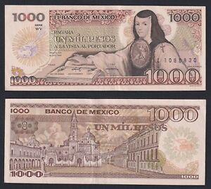 Messico 1000 pesos 1984 BB+/VF+  C-07