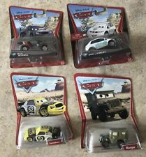 Disney Pixar's Cars Lot of 4! Leakless,Sarge,M. Schnell & E. Laneley! NEW!Thomas