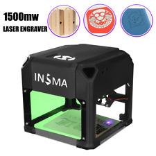 1500mW USB Mini Laser Engraver Printer Cutter Carver DIY Mark Engraving Machine