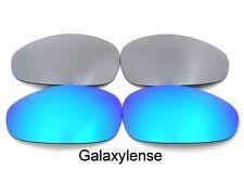 Replacement Lenses For Oakley Straight Jacket Blue&Titanium Polarized (2007)