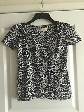 Cotton Blend V Neck Fitted Petite Tops & Shirts for Women