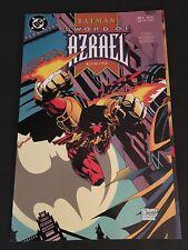 BATMAN  SWORD OF AZRAEL  #1   9.6  NM+   WHITE PAGES