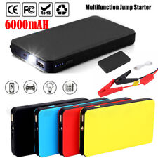 Portable Car Jump Starter 12V 6000mAh Auto Battery Booster Charger Power Bank US