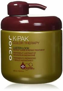 Joico K-Pak Color Therapy Luster Lock instant Shine Repair Treatment 16.9 Fl Oz