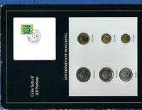 Coin Sets of All Nations Hong Kong 1979-1988 UNC $1 1979 $2 1985 $5 1988 SCARCE