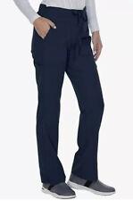 Grey's Anatomy Scrub Bottoms Pants 2207p Small P Signature Straight Navy  NWT