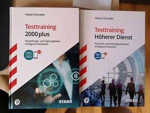 STARK Testtraining Höherer Dienst und Testtraining 2000plus