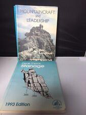 MOUNTAINCRAFT AND LEADERSHIP PLUS PEAKE TOPOS STANAGE