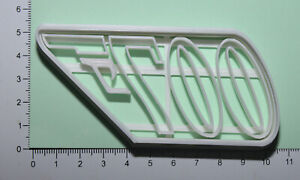 007 Logo Cookie or fondant  Cutter 3d printed