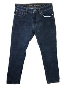 American Eagle slim stretch straight blue jeans men sz 31x30