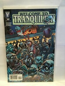 Welcome to Tranquility #11 VF/NM 1st Print Wildstorm Comics