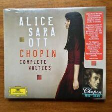 ALICE SARA OTT CHPIN COMPLETE WALTZES CD NEU DEUTSCHE GRAMMOPHON !