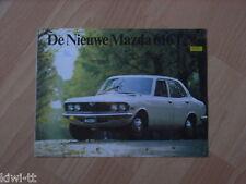 Mazda 616 Sedan / Coupe Prospekt / Brochure / Depliant, NL, 5.1975