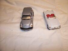 2000 SAICO PT Cruiser Diecast Car 1/34 Scale # DP5019 and Maisto 1953 Corvette