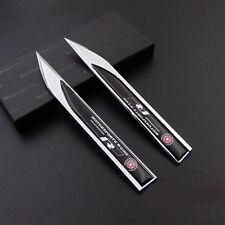 Metal R-Line Car Emblem Side badge Knife Car Sticker for Fit for VOLKSWAGEN