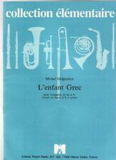 DELGIUDICE - L'ENFANT GREC pour trompette ut ou sib cornet ou bugle sib et piano