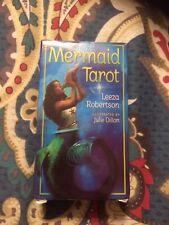 Mermaid Tarot Card Deck Leeza Robertson Cards Only No Guidebook