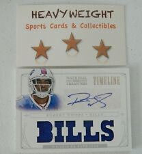 ROBERT WOODS ROOKIE AUTO PATCH 2013 NATIONAL TREASURES TIMELINE #'d 12/25