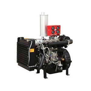 4-Zyl. Dieselmotor 1808ccm wassergekühlt Diesel Motor BHKW Generator SAE 4/7.5