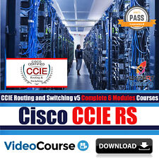 Cisco CCIE RS v5 Exams Complete 6 Modules 43 Hrs Video Training Courses DOWNLOAD