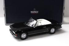 1:18 Norev Peugeot 504 Cabriolet black NEW bei PREMIUM-MODELCARS