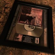 Eminem The Marshall Mathers LP Platinum Record Disc Album Music Award MTV RIAA