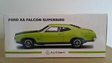 FORD XA FALCON SUPERBIRD LIME GLARE with JEWELL GREEN ACCENT AUTOart 1:18
