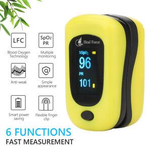OLED Fingertip Pulse Oximeter Oxygen Saturation Meter O2 Blood Monitor Finger AU