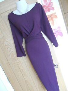 Phase Eight Violet Floral Shift Dress Bleu marine//ivoire Taille UK14 RRP89