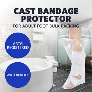 Waterproof Cast Protectors For Adult Foot Cover Bulk Packing ARTG Register