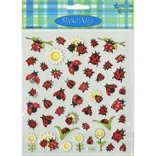 Scrapbooking Crafts Stickers Sticker King Ladybugs Sunflowers Lady Bugs Repeats