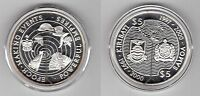 "KIRIBATI & SAMOA – SILVER PROOF 5$ +5 TALA ""BROKEN"" COINS 1997 YEAR KM#23 KM#116"